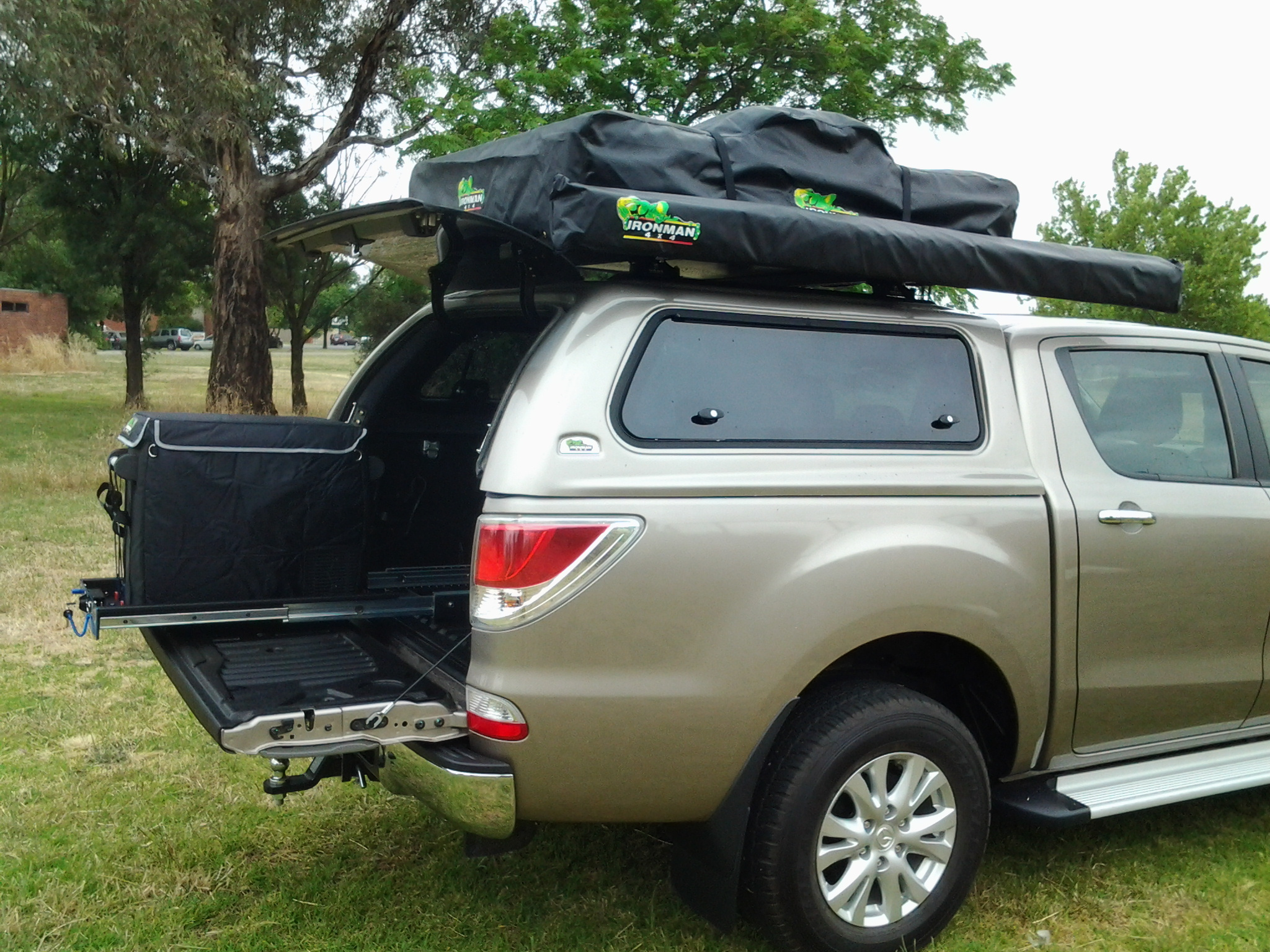 Bt50 2011 Thermo Plas Canopy Ironman 4x4 Nz
