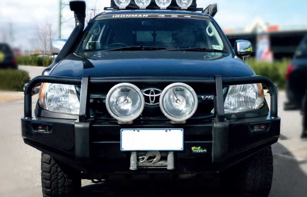 Hilux 2005 2011 Commercial Bull Bar Ironman 4x4 Nz