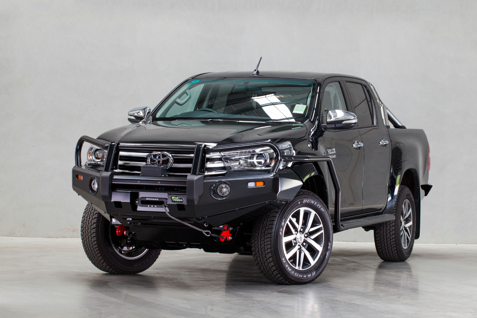 Hilux Revo 2015 Deluxe Commercial Bull Bar Ironman 4x4 Nz